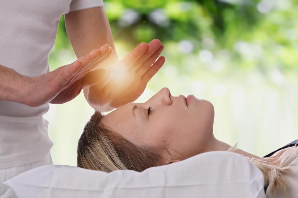 Léčení pomocí Reiki